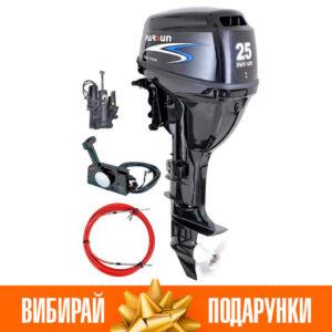 Човновий мотор Parsun F25 FWS-T